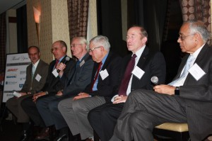 Panel discussion featuring Steve Schlickman and past UTC directors.