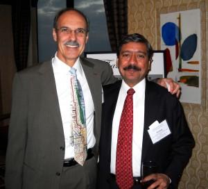 CUPPA Dean Michael Pagano and UTC METSI Director P.S. Sriraj.