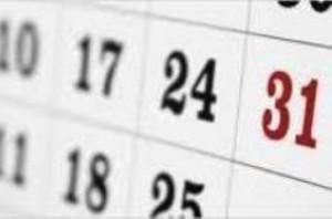 Calendar image edited